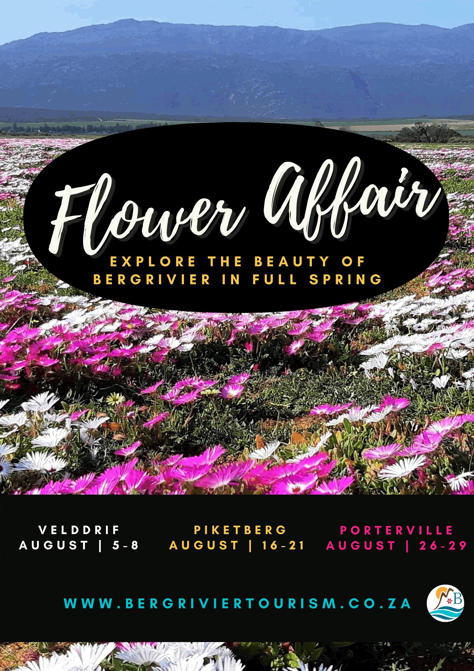 Flower season poster bergrivier
